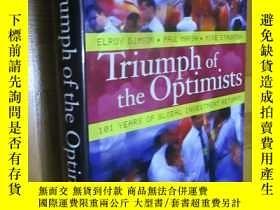 二手書博民逛書店Triumph罕見of the Optimists:101 Years of Global Investment