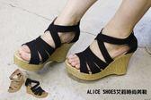 ALICE SHOES艾莉時尚美鞋 請把握!!搶鮮擁有潮流韓系厚底涼鞋@5788@MIT台灣製造