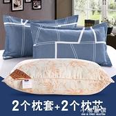 枕頭枕芯一對成人護頸椎枕單人雙人男女生宿舍一只裝整頭家用CY『小淇嚴選』