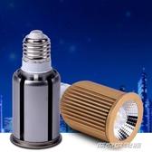 高亮LED聚光燈泡E27螺口大功率光源COB筒燈杯服裝店射燈110V220V 【雙11特惠】
