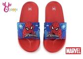 兒童拖鞋 蜘蛛人拖鞋 男童拖鞋 防水拖鞋 MIT 台灣製 I5544#紅藍◆OSOME奧森鞋業