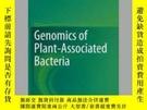二手書博民逛書店Genomics罕見of Plant-Associated BacteriaY405706 Dennis C.