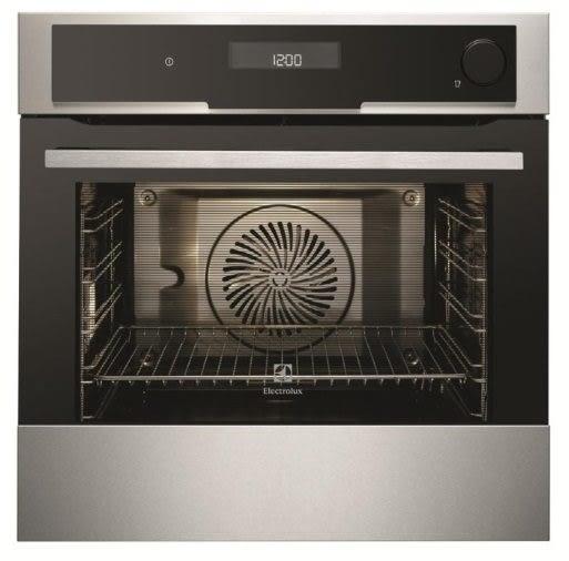 贈鍋具  Electrolux 瑞典 伊萊克斯 EOB8851AAX 嵌入式蒸烤箱 74公升(220V)德國  高度59.4公分