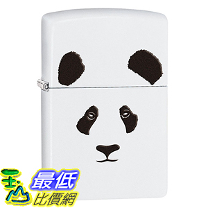 [美國直購] Zippo B00TYA1G6E Animal Lighters White Matte Panda 打火機
