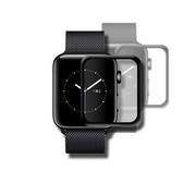 AmazingThing Apple Watch 1/2/3代 滿版強化玻璃保護貼