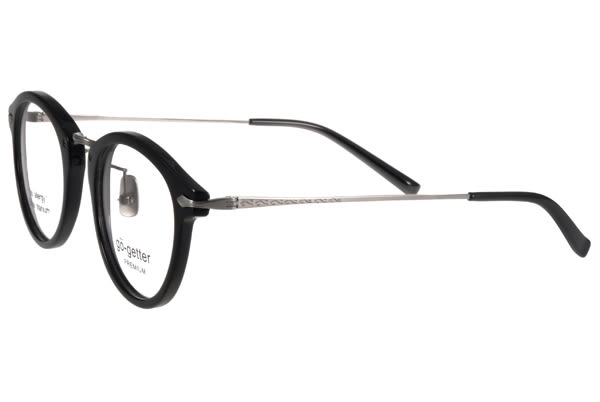Go-Getter 光學眼鏡 GO5003 C02 (黑-槍銀) 韓系時尚潮流款 # 金橘眼鏡