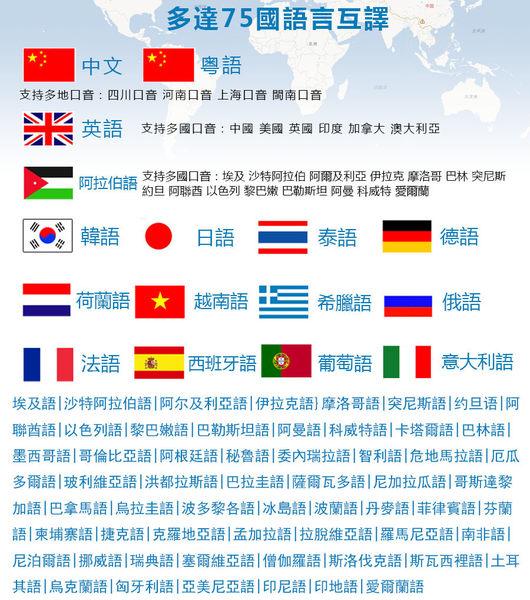 Eabosy譯播AX-11雙向同步翻譯機 拍照翻譯 離線翻譯 線上翻譯 支援75國語言 永久更新 全新未拆公司貨