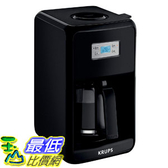 [8美國直購] 2019 KRUPS 咖啡機 Coffee Maker, Coffee Machine, LED Control Panel, 12 Cups, Black