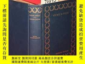二手書博民逛書店稀缺,Views罕見A-Foot or, Europe Seen with a Knapsack and Staf