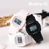 Baby-G 復古時尚風潮 40mm/BGD-560-1/防水/少女時代/BGD-560-1DR 黑色