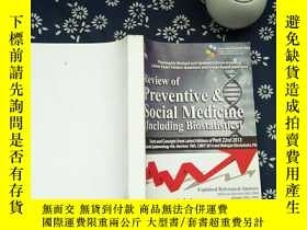二手書博民逛書店Review罕見of Preventive&Social Med