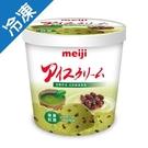 明治抹茶紅豆冰淇淋 728G/桶【愛買冷凍】