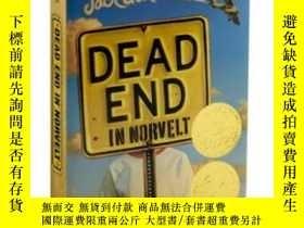 二手書博民逛書店Dead罕見End in Norvelt 諾福鎮的奇幻夏天 諾維