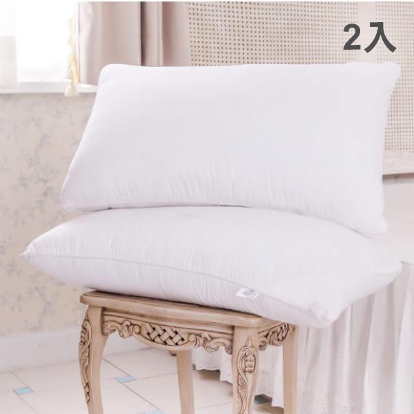 枕頭 純棉/浪漫巴黎壓縮枕2入[鴻宇]台灣製
