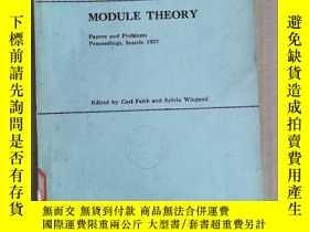 二手書博民逛書店module罕見theory(P2134)Y173412