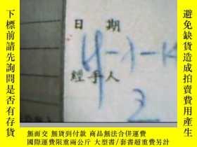 二手書博民逛書店罕見1969年中國民用航空客票11225 出版1969