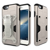 Phonefoam iPhone6/6s 4.7吋腰夾式插卡吸震保護殼(金)