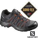 【SALOMON 法國】男 TASMAN 2 低筒 GORE-TEX 登山鞋『瀝青/黑/金屬灰』381398 登山鞋.健行鞋