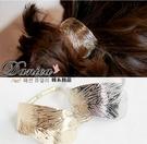 髮飾 現貨 韓國熱賣氣質甜美 金屬 森林系 閃亮葉子 髮束(2色) S7442  批發價 Danica 韓系飾品