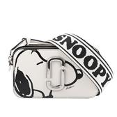【MARC JACOBS】Peanuts x The Snapshot 防刮牛皮相機包(棉花白) M0016815 164