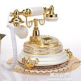 復古電話歐式電話機 仿古電話機 高檔天然玉石電話機 創意電話機 新款座機 NMS陽光好物