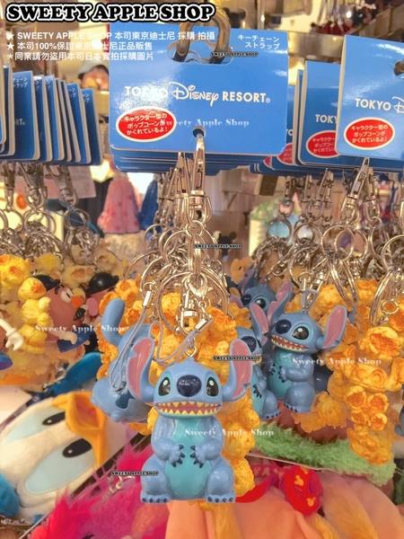 ( 現貨 & 樂園實拍 ) 日本 東京迪士尼 樂園限定 史迪奇 仿爆米花桶造型 鑰匙圈吊飾