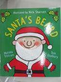 【書寶二手書T1/少年童書_EFP】Santa's Beard_Matilda Tristram,Tom Duxbury