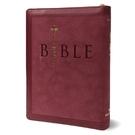 聖經和合本(紅色麂皮拉鍊索引金邊)