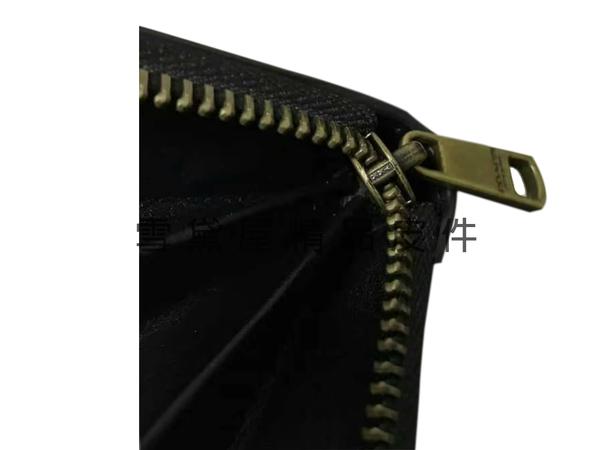 ~雪黛屋~COACH 長皮夾國際正版保證進口防水防刮皮革U型包覆拉鍊型主袋中性款品等候10-15日C745971