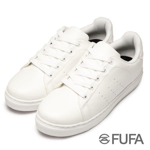【富發牌】歐美LOOK簡約風小白鞋-白 805PK