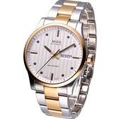 MIDO Multifort 系列 時尚大三針 機械腕錶 M0054302203180 雙色款