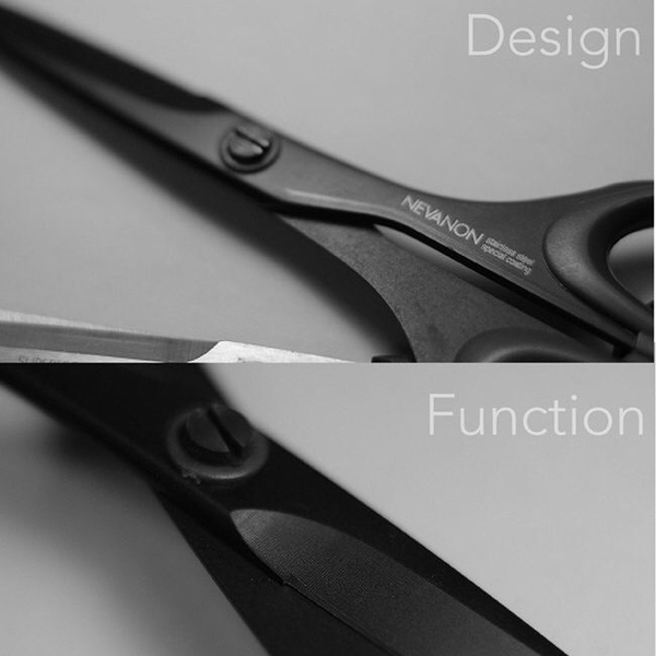 【日本SILKY】黑刃超不粘膠剪刀-事務剪-170mm 堅守著傳統的刀具鍛造工藝