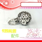 銀鏡DIY S925純銀材料配件/復古硫...