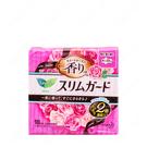 【日本花王】Laurier 零觸感薄型 玫瑰花香 日用量多衛生棉25cm_18枚入