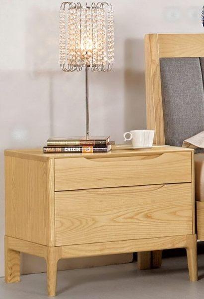 【南洋風休閒傢俱】臥室系列-丹肯1.9尺栓木實木床頭櫃 2016新款(CM033-6)