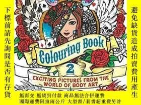 二手書博民逛書店Tatto罕見Colouring Book 2-塔托彩繪書2Y346464 Published by Arc