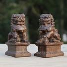 [協貿國際]越南天然沉香木雕獅子帥印擺件...