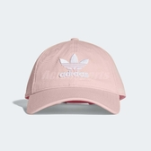 adidas 帽子 Originals Trefoil Classic Cap 粉紅 白 男女款 經典款 老帽 【PUMP306】 CV8143