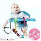 寶寶便攜式餐椅固定帶 奶嘴繩 牙膠鏈