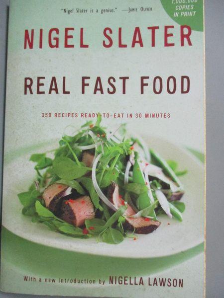 【書寶二手書T4/餐飲_HMZ】Real Fast Food: 350 Recipes Ready-to-eat in