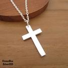 §海洋盒子§聖潔守護.亮面拋光素面十字架...