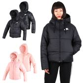 NIKE 女鋪棉外套 (免運 保暖 長袖外套 連帽外套 立領 雙面穿≡排汗專家≡