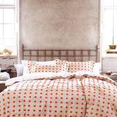 ✰加大鋪棉床包兩用被四件組✰100%精梳純棉(6×6.2尺)《華夫》