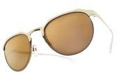 EMPORIO ARMANI 太陽眼鏡 EA2067 3013-7D (金-淡黃鏡片) 潮流眉框款  # 金橘眼鏡