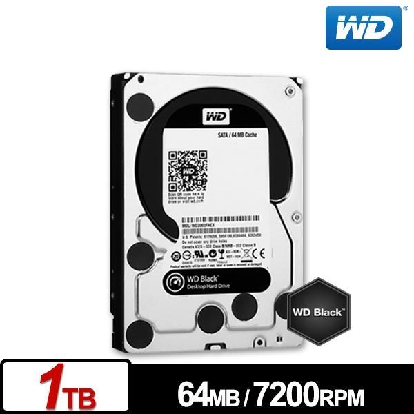 WD1003FZEX 黑標 1TB 3.5吋SATA硬碟