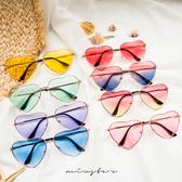 現貨-MIUSTAR 韓國復古多色愛心造型眼鏡(共8色)【NF1542T1】