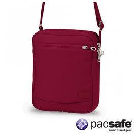 Pacsafe CITYSAFE CS150 休閒斜肩包 女 蔓越莓紅色 |防盜|肩背|旅遊|20215310