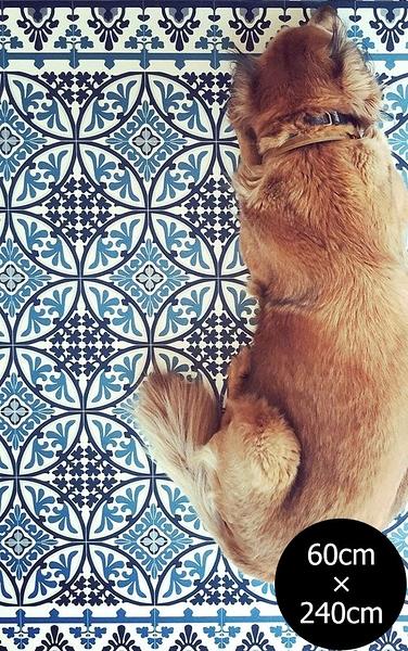 地墊  幾何形 磚紋 Beija FlorTile Flooring T9 (60cm×240cm)