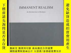 二手書博民逛書店Immanent罕見Realism: An Introducti