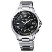 CITIZEN Xc 輕量率性光動能經典腕錶(銀黑)